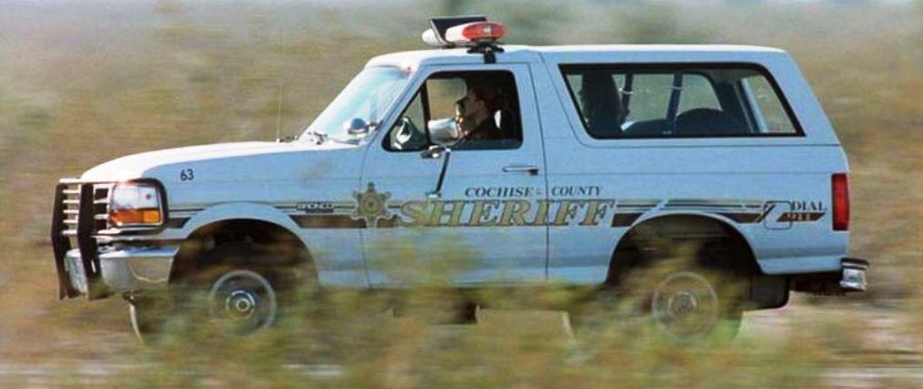 1994 Ford Bronco Police Car - Eight Legged Freaks