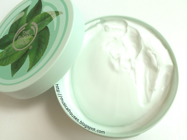 The Body Shop Fuji Green Tea Body Butter Open