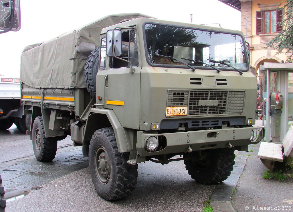 iveco acm 90 4x4 italian army alessio flickr. Black Bedroom Furniture Sets. Home Design Ideas