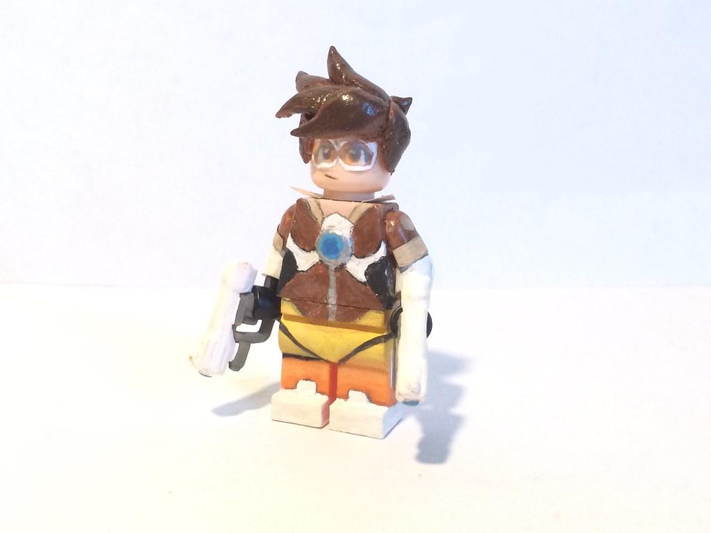 Tracer Lego Overwatch Skidesz Flickr