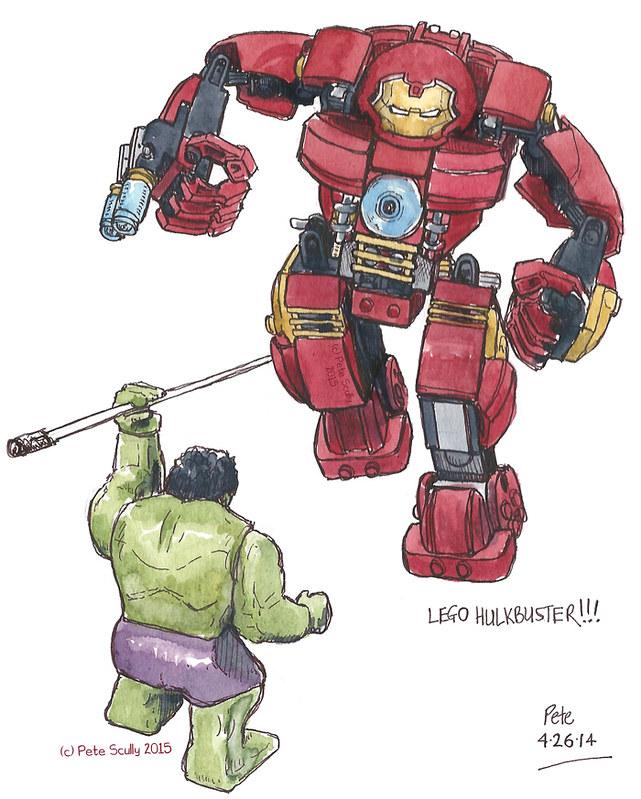 Lego Hulkbuster!