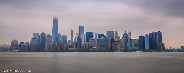 Manhattan from Ellis Island