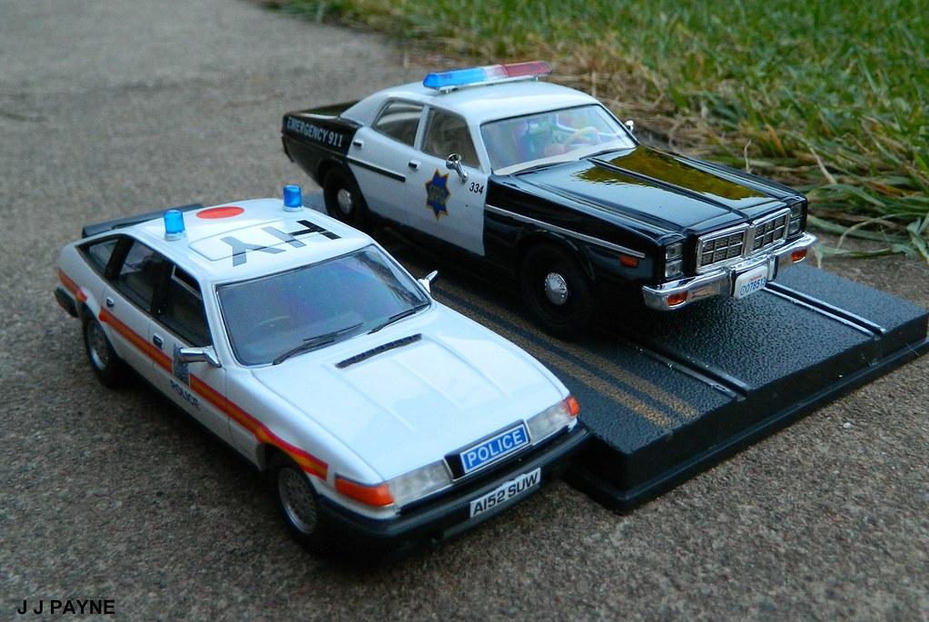 uk vs us police car british rover 3500 for the metropolit flickr. Black Bedroom Furniture Sets. Home Design Ideas
