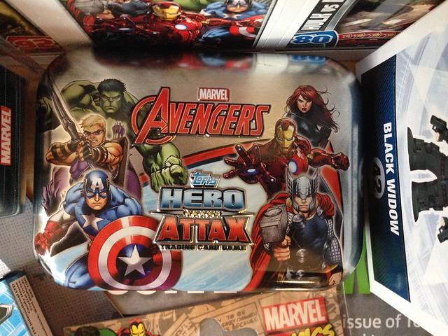 Marvel Comics Zavvi ZBOX, May 2015 Topps Avengers Hero Attax