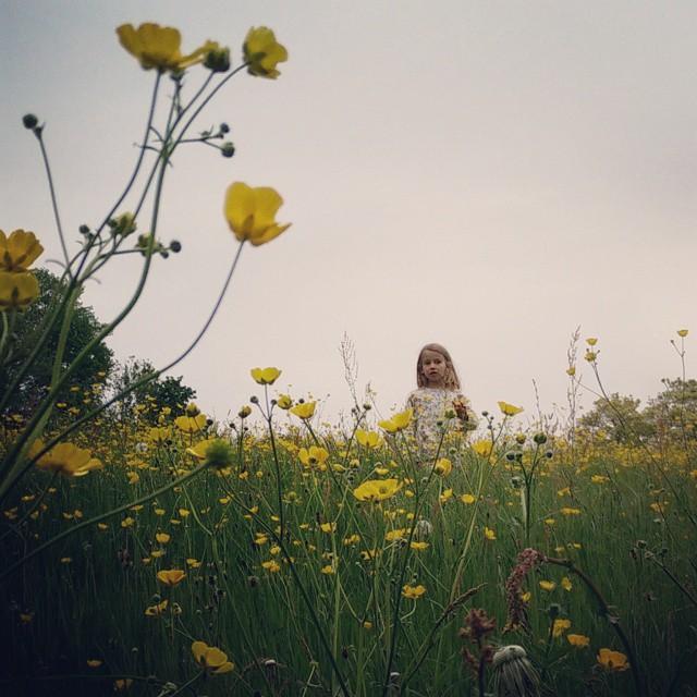 Bloemenmeisje.