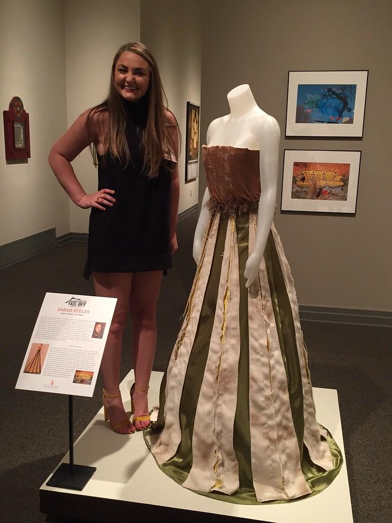 University of auburn colored dresses