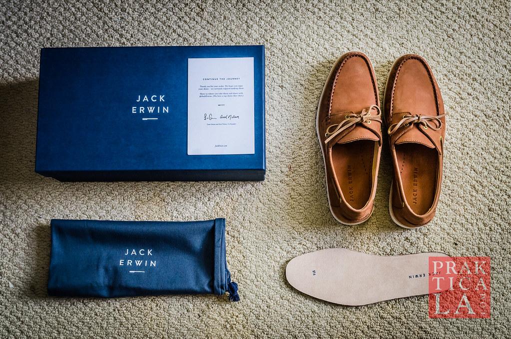jack erwin cooper boat shoe box contents