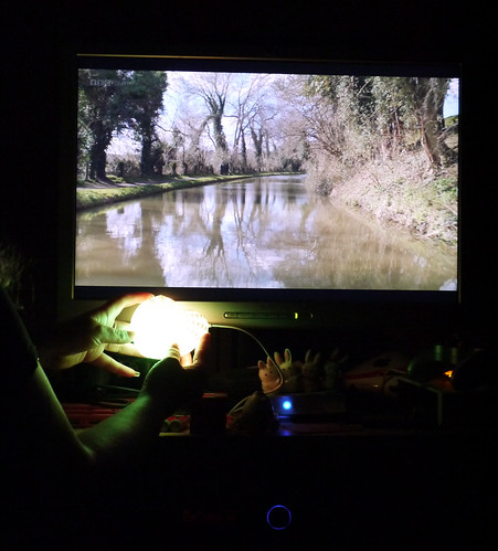Watching 'Canal Trip' on BBC4 with AnemoneStarHeart broadcasting / visualising EEG