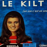 "SHEILA LE KILT 7"" PS Single"