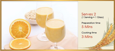 Orange Oat Smoothie
