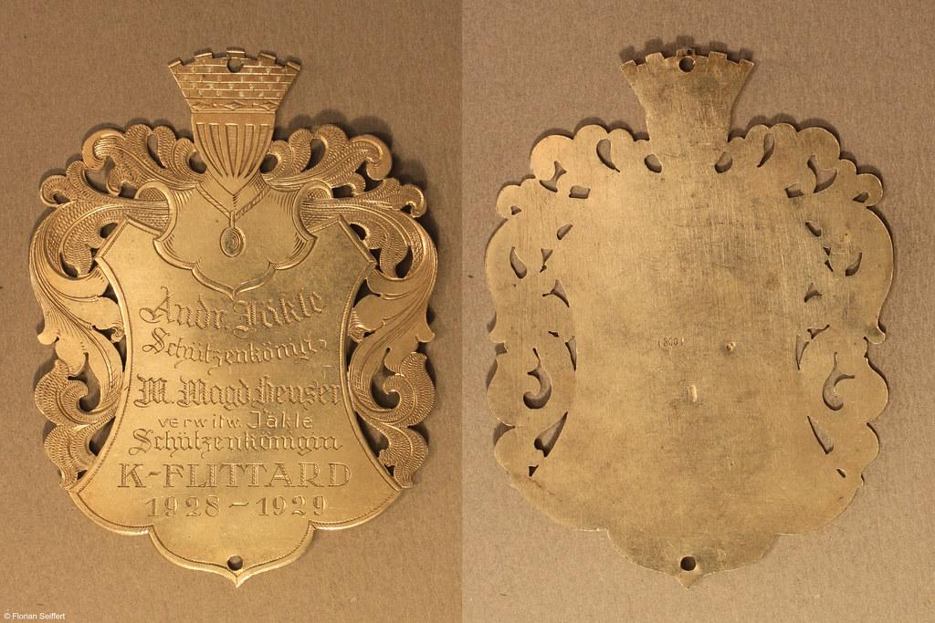 Koenigsschild Flittard von jaekle andr aus dem Jahr 1928