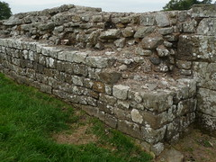 Birdoswald (Banna) Roman Fort, Hadrians Wall, Cumbria, England, 12 July 2014, P061