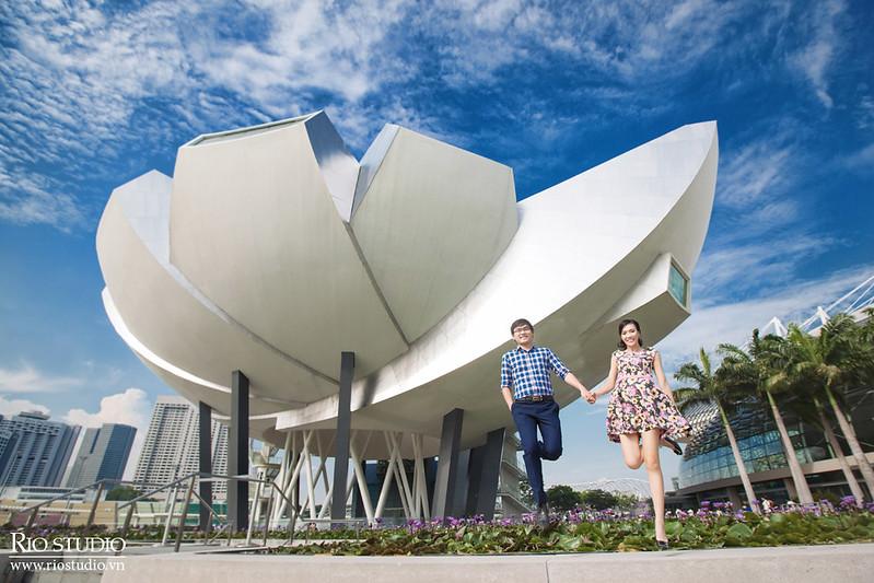 Ảnh cưới Tuấn - Nhung (Singapore)