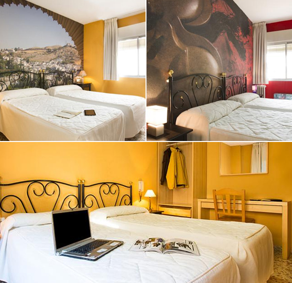 Casa Salvador de Granada, probablemente el mejor hotel lowcost más barato de Granada