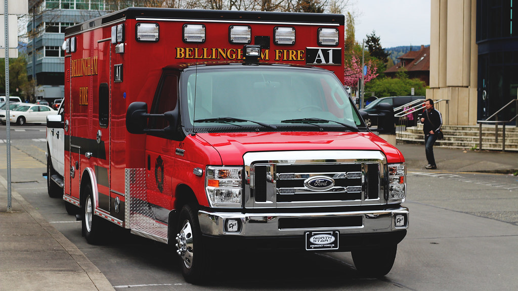 2015 Ford E350 Ambulance: Bellingham Fire EMS A1 | This is ...