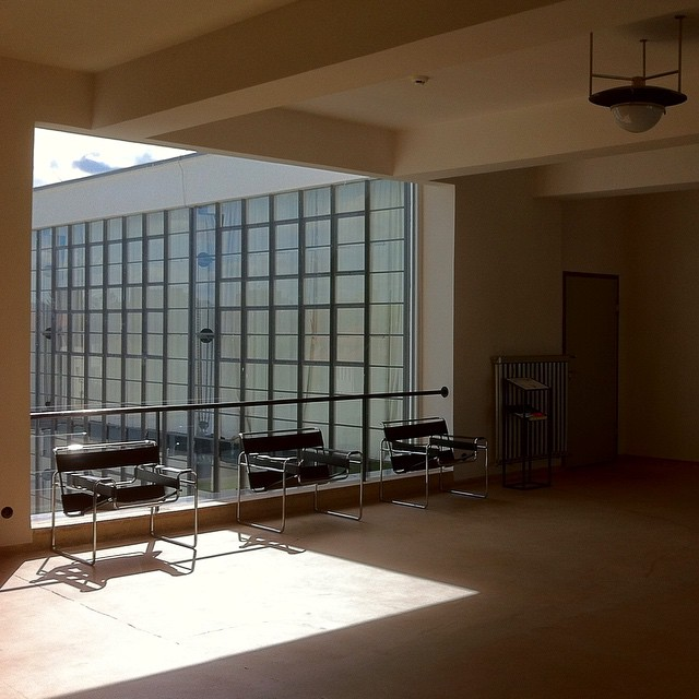 Bauhaus school interior architecture and fixtures flickr - Bauhaus iluminacion interior ...