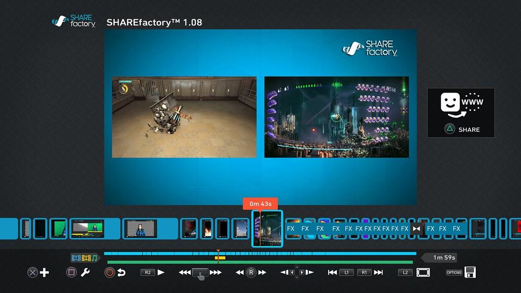 SHAREfactory更新:Track 2、綠幕,以及更多機能