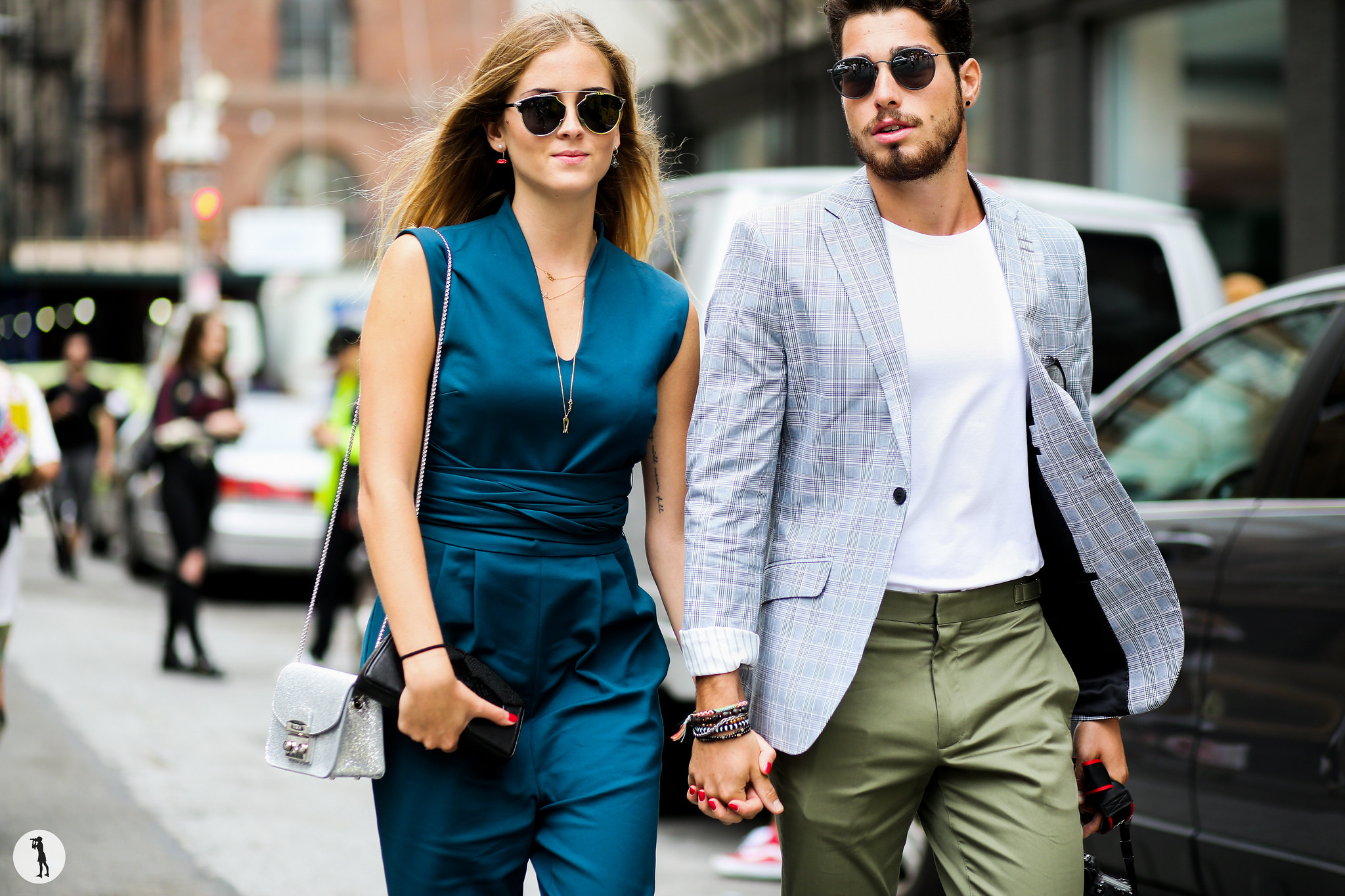 Valentina Ferragni and Luca Vezil at New York Fashion Week-2