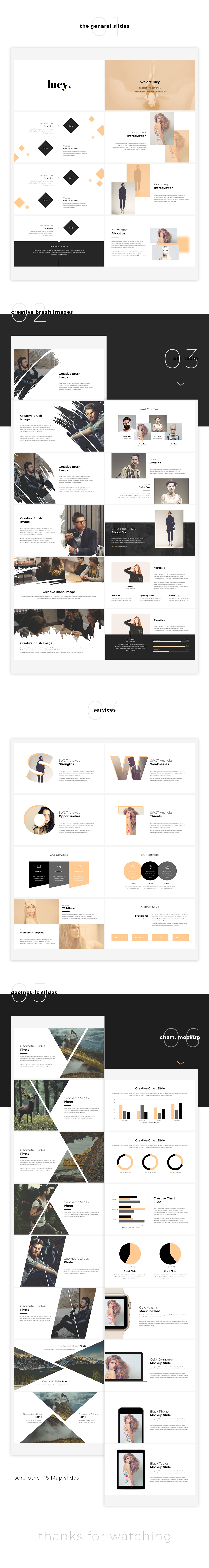 Lucy - Creative Powerpoint Template