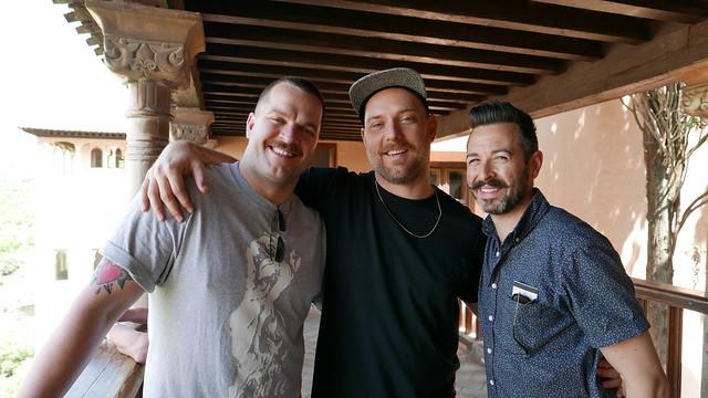 Um, yeah, no biggie - just me jaunting around Spain with three stupidly handsome men. JUST KIDDING, MY LIFE RULES.