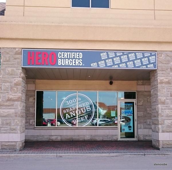 Hero Certified Burgers Bayview Highway 7