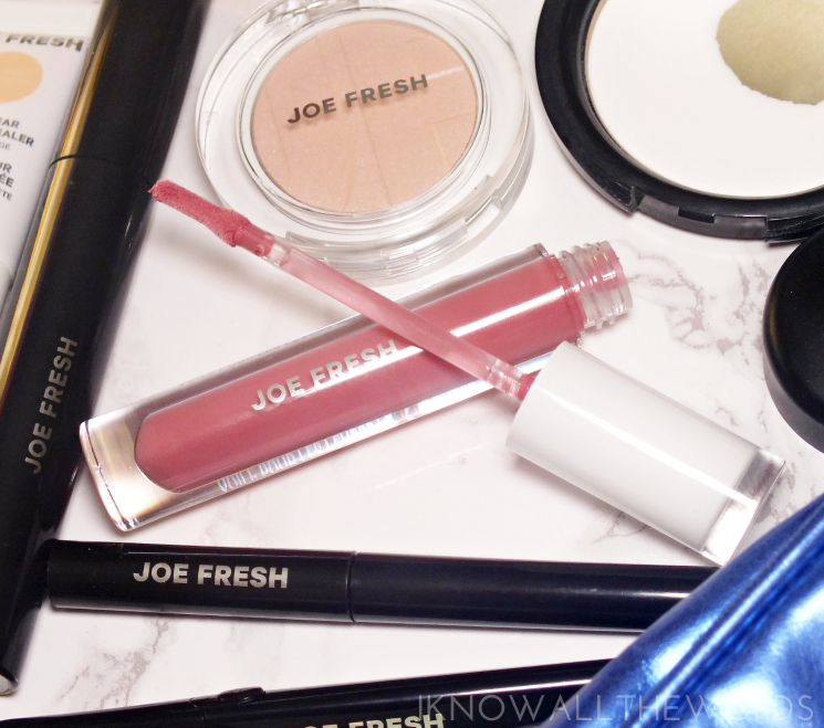 joe fresh beauty long wear lip veil in rose (2)