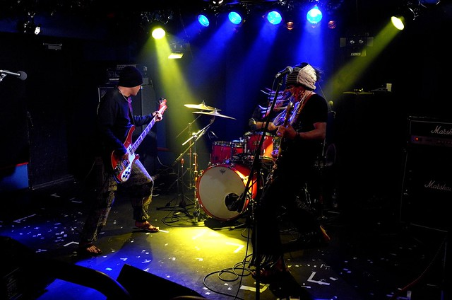 SPUTNIK KOMBINAT live at 獅子王, Tokyo, 10 May 2015. 389
