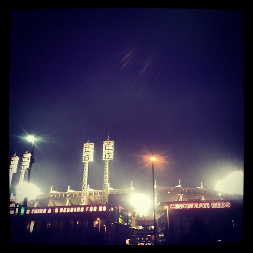 Post #Reds Friday Night Fireworks at #GABP