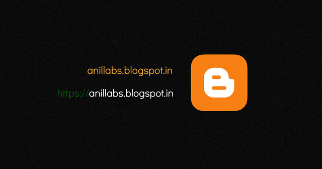 HTTPS for Anil Labs blogspot domain