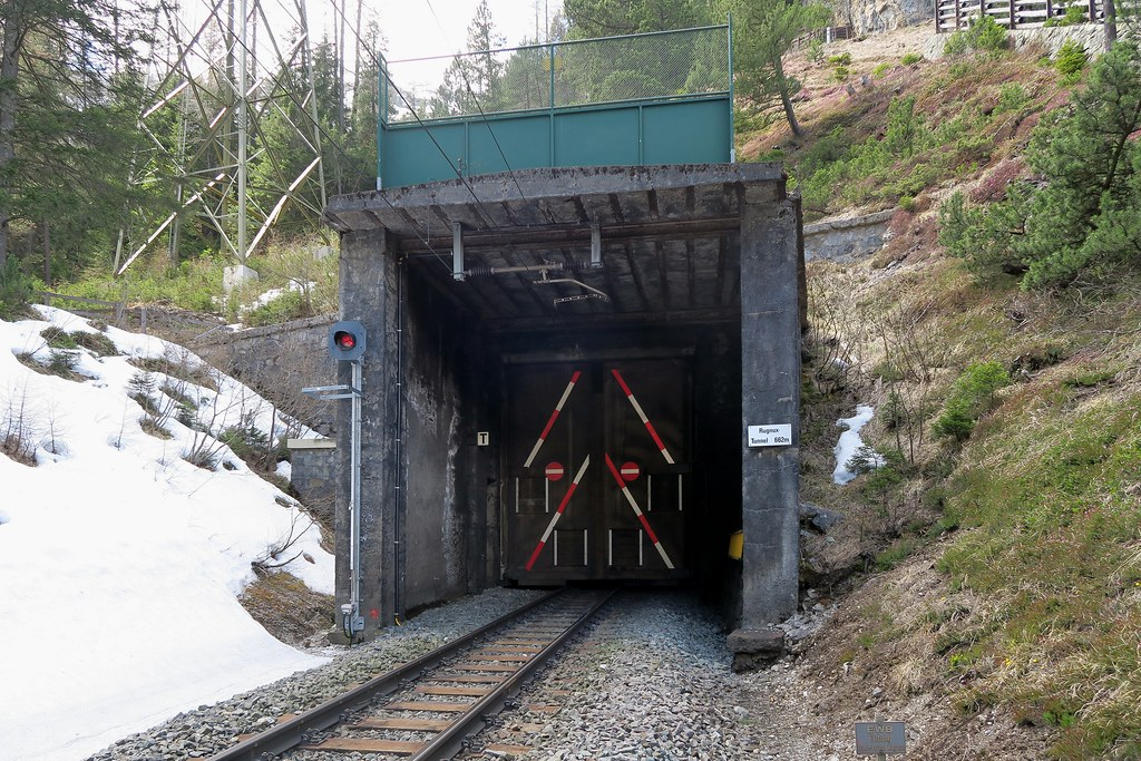 Albula Pass The Secret Of Tunnel Rugnux When I Came To