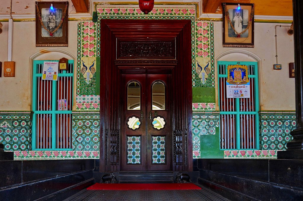 Entrance Door Athangudi Palace Chettinad Karaikudi Flickr