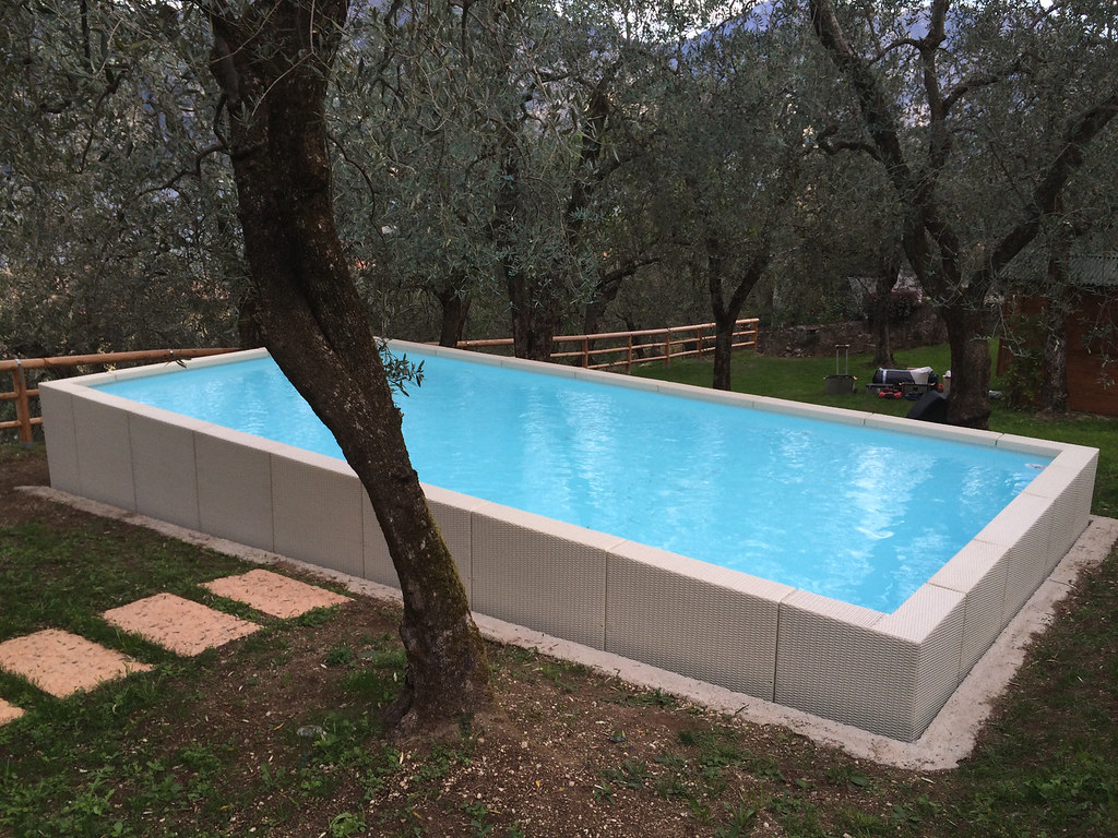 dolcevita diva 358 10 piscina dolcevita diva 3 5x8 metri h flickr. Black Bedroom Furniture Sets. Home Design Ideas