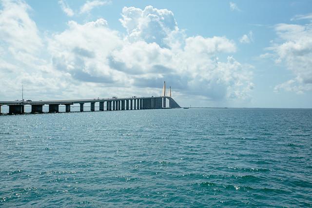The sunshine skyway bridge the sunshine skyway bridge as for Skyway bridge fishing pier