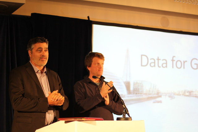 Tom Reilly and Mike Olson, Cloudera