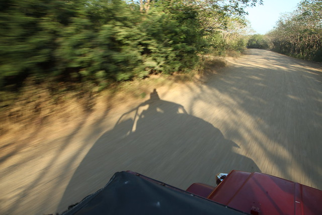 Driving an old Toyota through Nicaragua