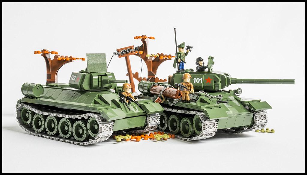 Лего танк т 34 85 как сделать