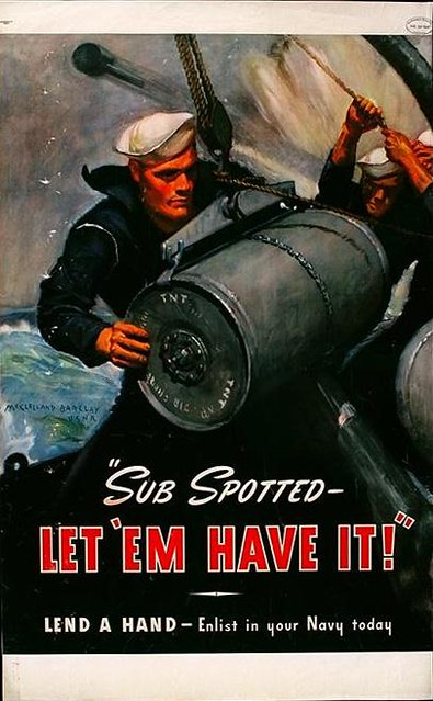 World War II Poster - let 'em have it