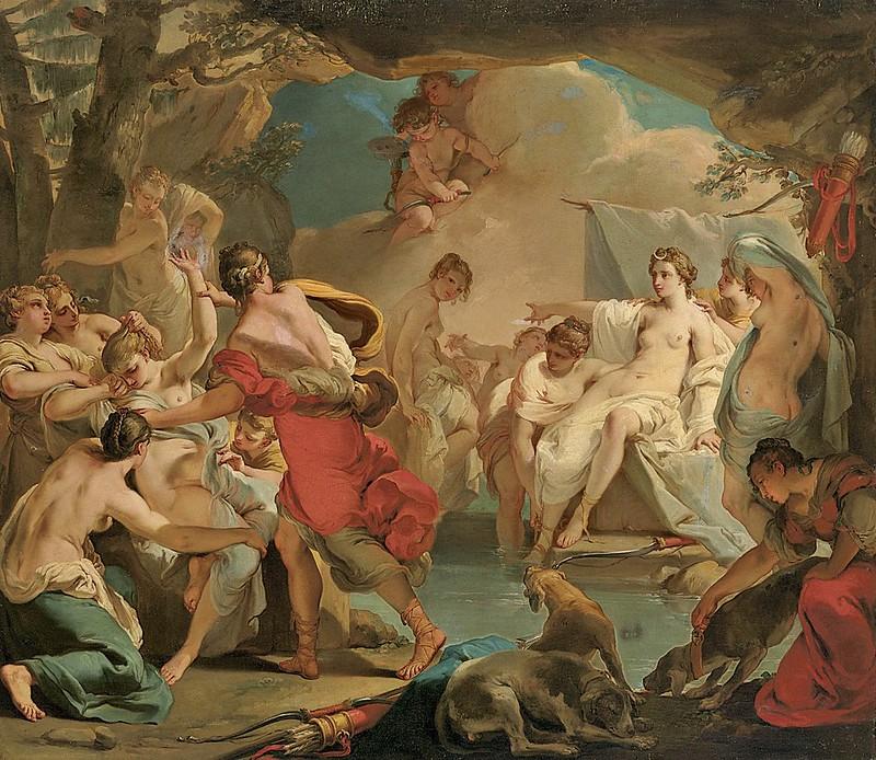 Gaetano Gandolfi - Diana and Callisto (c.1790)