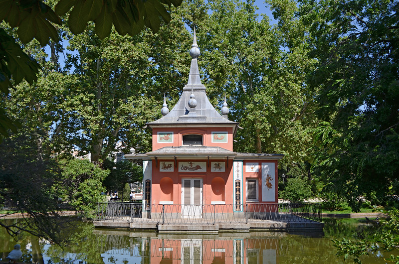 Fisherman's cottage, Park de El Retiro, Madrid