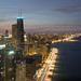 Looking North Along Chicago's Coast