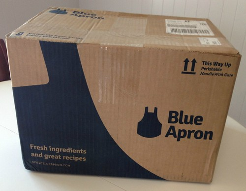 box of blue apron meals