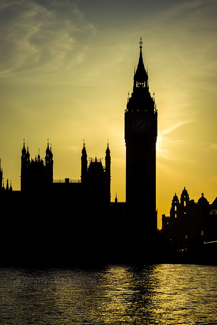 One of the most famous landmarks in the world. Big Ben itself.