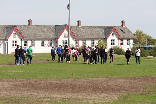 shufflers at fort calgary by mike roberts