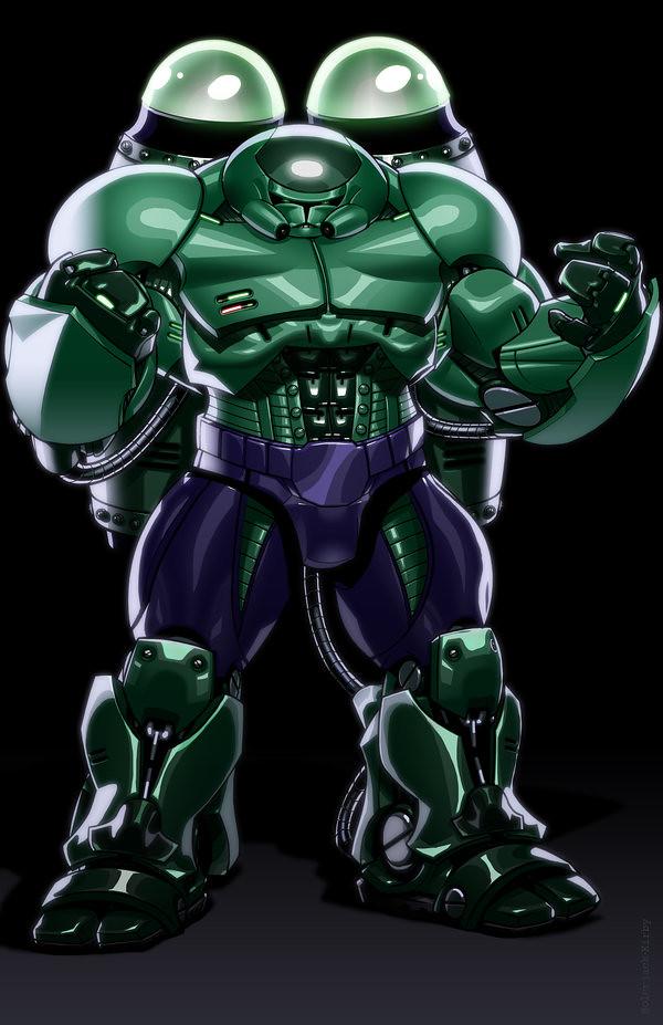 Avengers Clone Troopers Hulk Buster by JonBolerjack