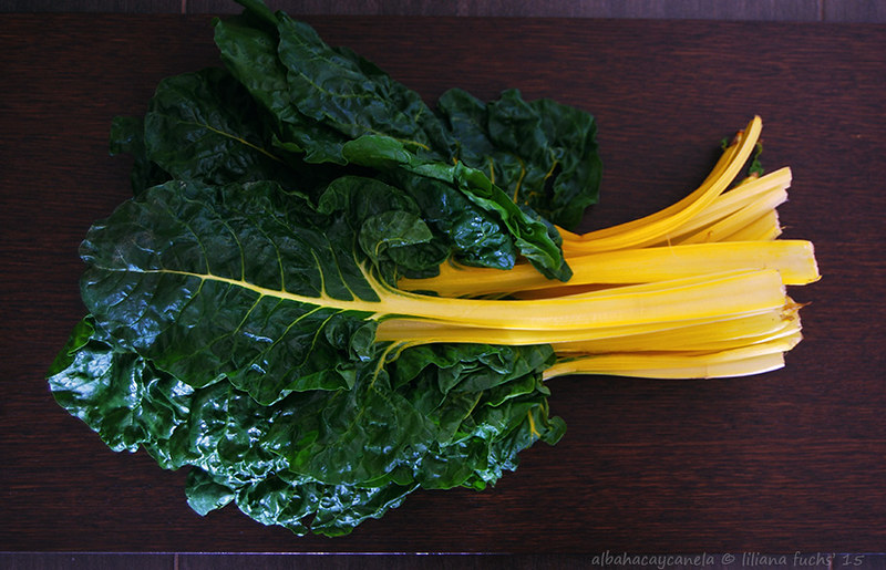 Yellow swiss chard