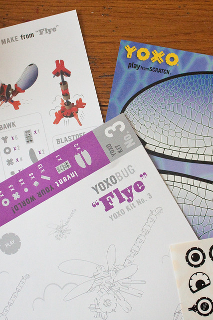 Looking for creative, durable, and affordable toys to inspire makers? Check out YOXO building sets!