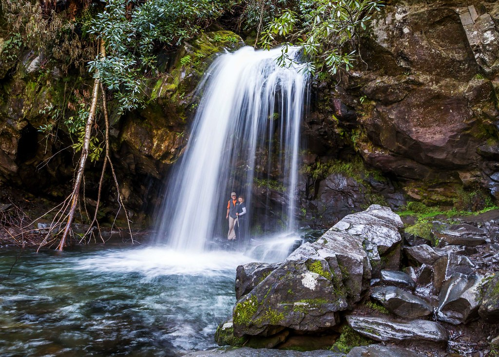 Grotto Falls | This is a great waterfall to visit in the ...