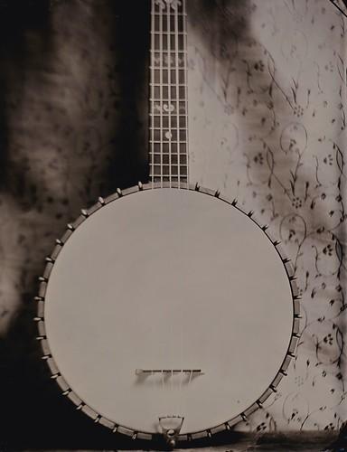 Nashville tintype photography banjo