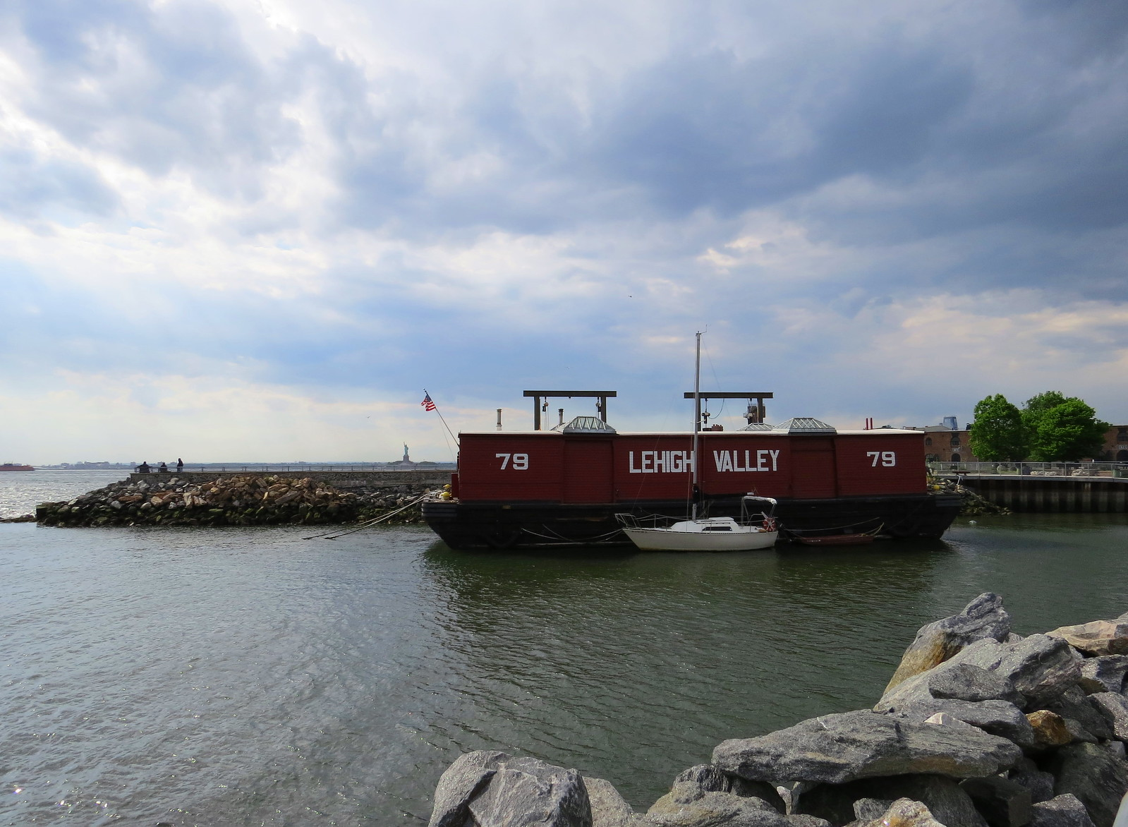 Lehigh Valley Barge, Red Hook, Brooklyn, NY