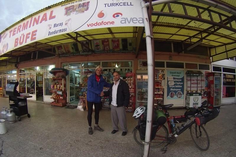 Meeting with  Sadık Hami DEDETAŞ in Çayeli